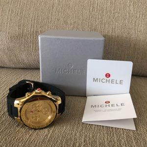 Michele Jelly Band watch
